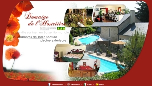 Domaine Hostr�i�re - Hotel omaha beach
